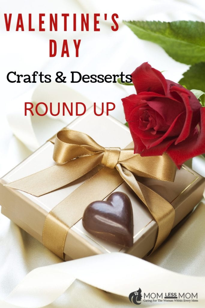 Valentines day crafts and desserts
