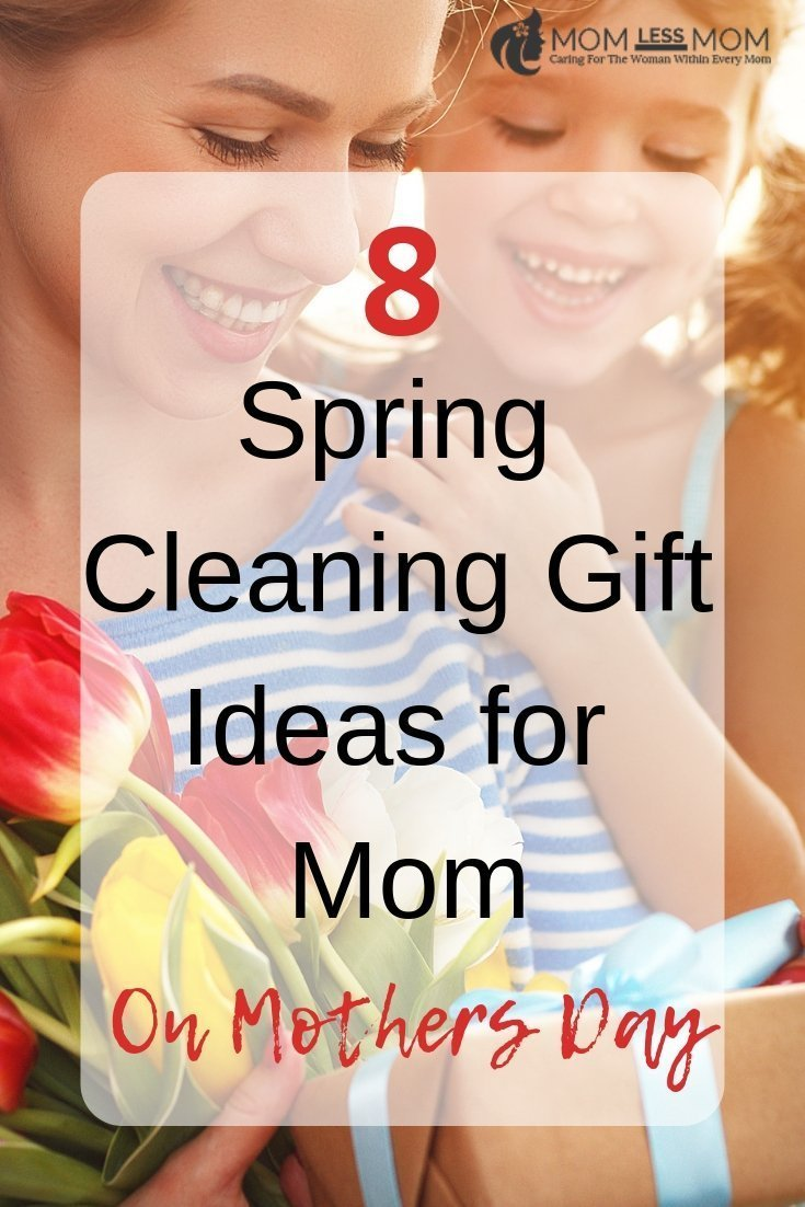 A great gift for Mom on Mother\'s Day is spring cleaning. With a few cleaning supplies and elbow grease, you can spring clean your Mom\'s house for her. This is a Mother\'s Day gift that your Mom will not only appreciate but costs very little to give to her. Mother\'s Day arrives right in time for a good spring cleaning. Here are some Unique gifts ideas for Mom #Mothersdaygifts
