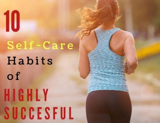self-care habits of successful women