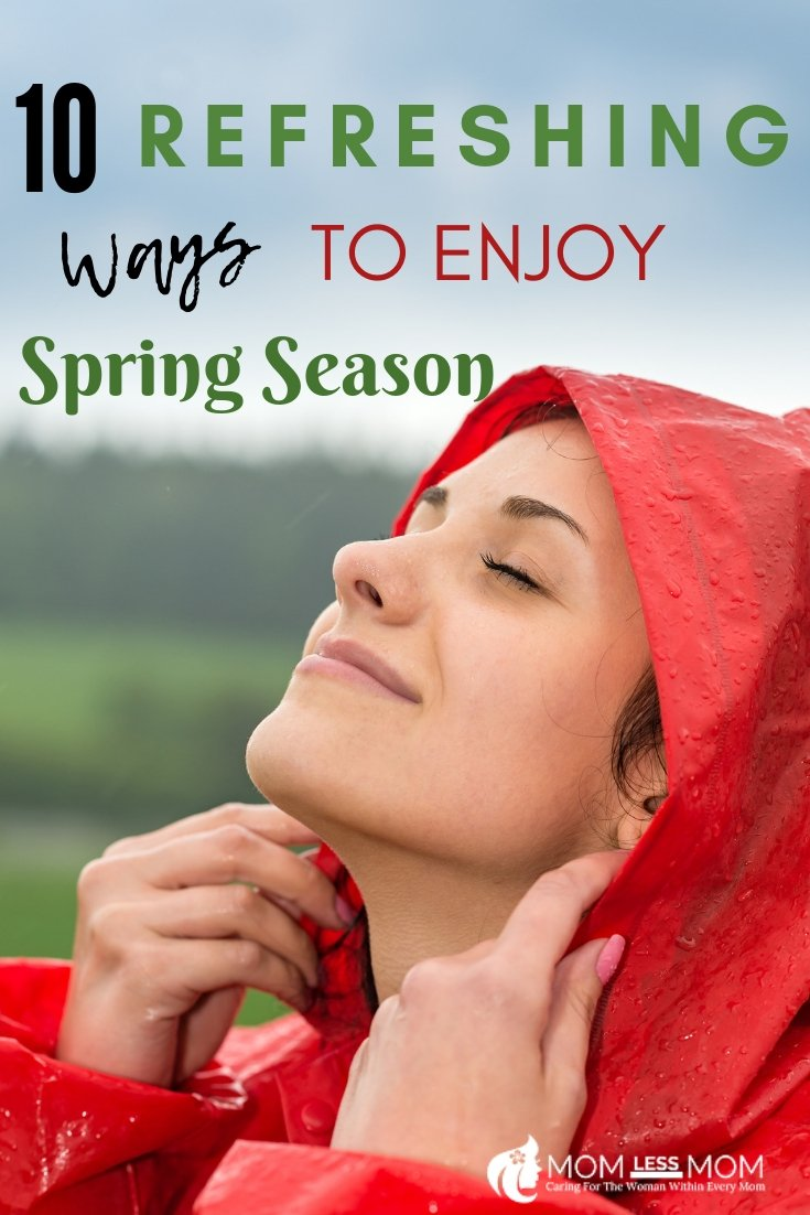 Spring season is here, almost. It is time to wake up with a myriad of ideas guaranteed to kick your spirits into high gear while spreading infectious joy. We all know the merits of Spring cleaning and organization but there are other ways to get into the swing of things. Here are some refreshing ideas to enjoy Spring season! #spring