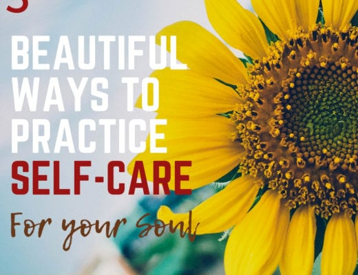 3 beautiful ways to practice self-care spiritually