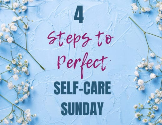 4 ideas to have a perfect self-care sunday