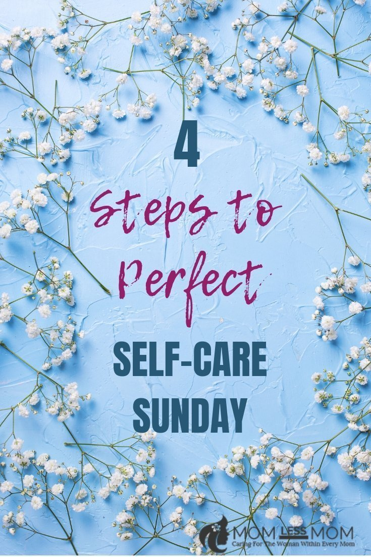 You can have the perfect self-care Sunday with hardly any effort on your part at all! All you need is a little prepping and you'll relish in the benefits for many Sunday's in the future! #selfcare #selfcaresunday