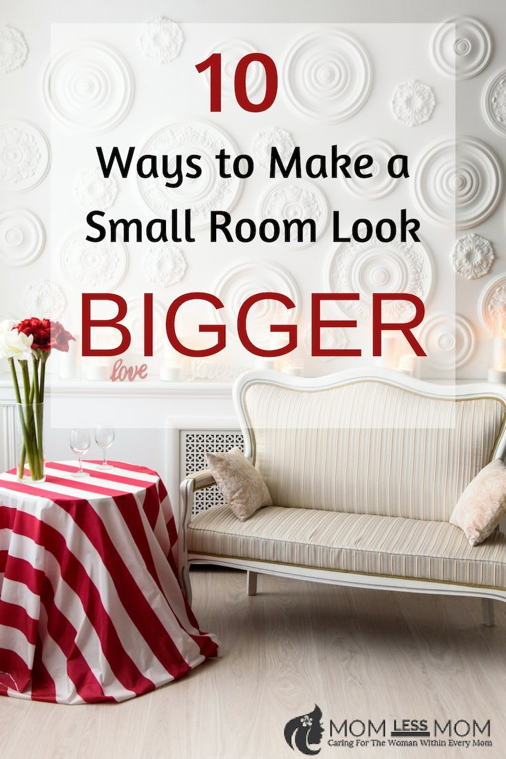 if you don't have the funds to extend a room out or knock down walls, or if it's impossible to change a space's total footprint because of other reasons, there are still steps you can take when it comes to your interior design choices which will make a petite room feel bigger. Read on for ten tips you can follow. #roomdecor #homedecor #interiordesign