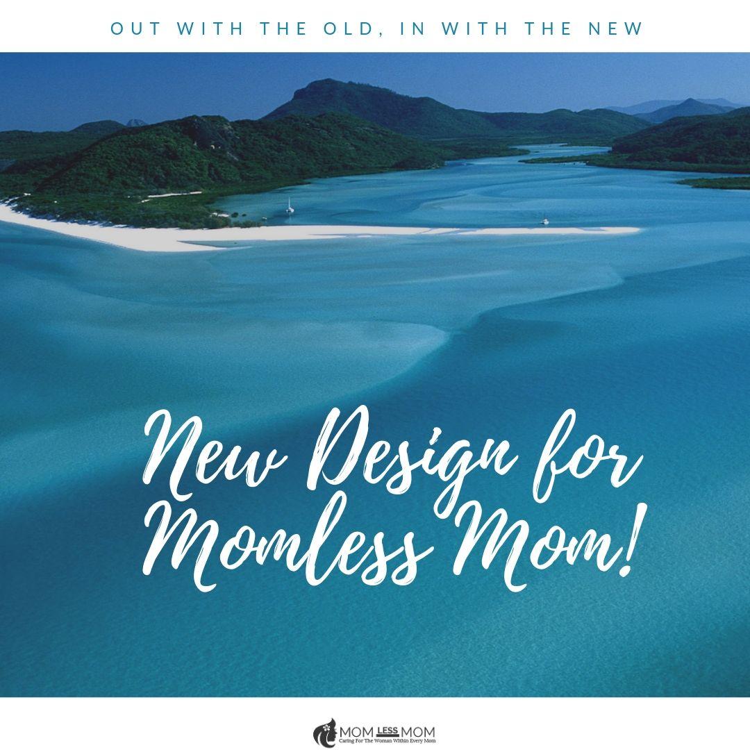 Website design for Momless Mom