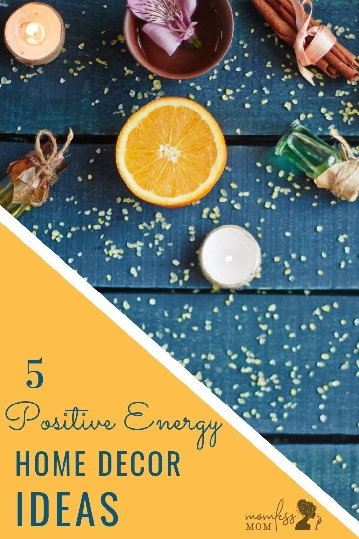 Take a look at a few tried and tested ways for moving your home in the right direction, energy-wise. Have a look at these 5 positive energy home decor ideas. #positiveenergy