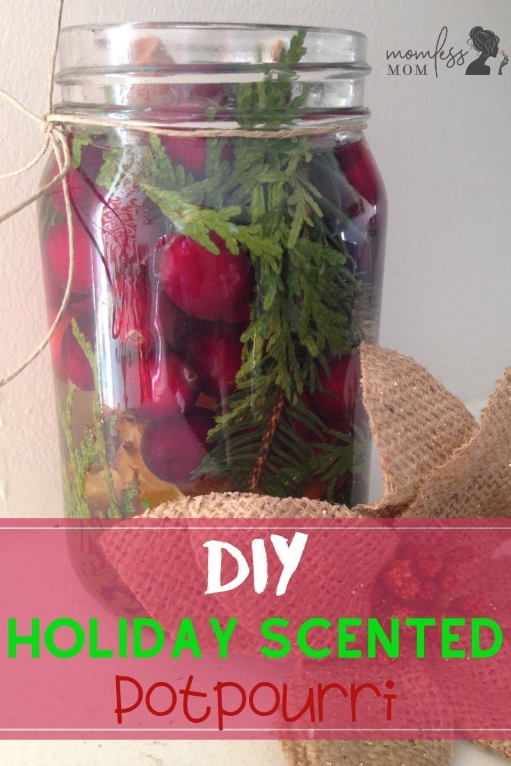 homemade potpourri for holiday season